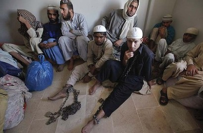 In chains at a Madrassa