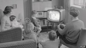 Television as household focus point
