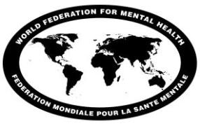 World Federation of Mental Health logo